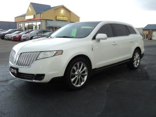 Used 2010 Lincoln MKT AWD 3.5L Ecoboost 3rd Row Seat for sale in Brantford, ON