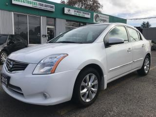 Used 2012 Nissan Sentra 2.0 l Alloy Wheels l Automatic for sale in Waterloo, ON