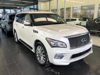 Used 2015 Infiniti QX80 Technology, One Owner, 7 Passenger for sale in Edmonton, AB