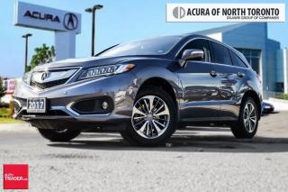 Used 2017 Acura RDX Elite at Super low Kilometers .. Navigation, Parki for sale in Thornhill, ON