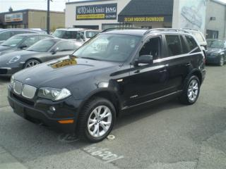 Used 2009 BMW X3 xDrive30i! PREMIUM PKG! PANO ROOF! for sale in Etobicoke, ON