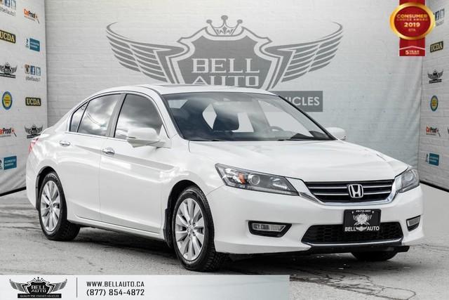 2013 Honda Accord Sedan EX-L, NO ACCIDENT, REAR CAM, SUNROOF, LEATHER, KEY-LESS ENTRY