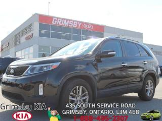 Used 2014 Kia Sorento LX...EXTRA SPACE AND FUEL EFFECIENT!!! for sale in Grimsby, ON