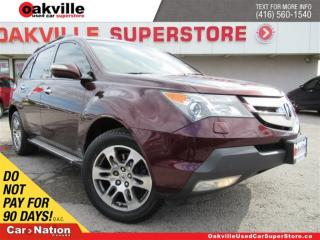 Used 2009 Acura MDX TECH PACK | LEATHER | SUNROOF | B/U CAM | NAVI for sale in Oakville, ON