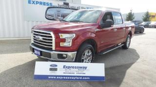 Used 2015 Ford F-150 XLT 4x4 3.7L V6 275Hp for sale in Stratford, ON