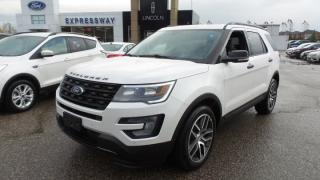 New 2017 Ford Explorer Sport, 4WD, 365hp, Tech Pkg, Loaded for sale in Stratford, ON