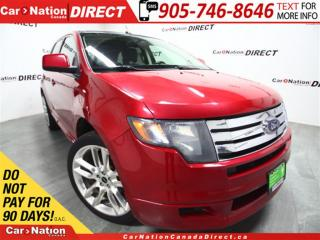 Used 2010 Ford Edge Sport| AWD| LEATHER| DUAL SUNROOF| NAVI| for sale in Burlington, ON