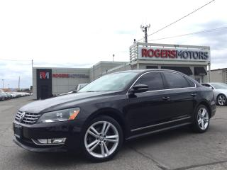Used 2013 Volkswagen Passat 2.5 - 5SPD - NAVI - LEATHER - SUNROOF for sale in Oakville, ON