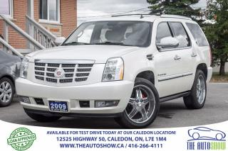 Used 2009 Cadillac Escalade ESCALADE | NAVI | CAMERA | 7PASS for sale in Caledon, ON