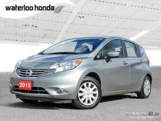 Used 2015 Nissan Versa Note 1.6 S Bluetooth, A/C and More! for sale in Waterloo, ON