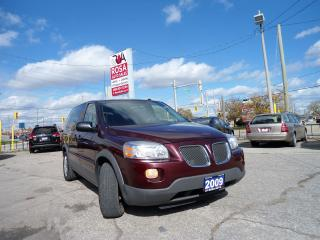 Used 2009 Pontiac Montana AUTO FAMILY VAN 7 PASSENGERS DVD  KEYLESS ENTRY NO for sale in Oakville, ON