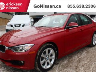 Used 2012 BMW 320 SUNROOF, HEATED SEATS, LOW KMS for sale in Edmonton, AB