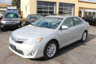Used 2013 Toyota Camry XLE Hybrid Sunroof Leather Nav for sale in Brampton, ON