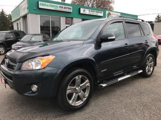 Used 2012 Toyota RAV4 Sport l Leather l New Tires l Remote Start l Cam for sale in Waterloo, ON