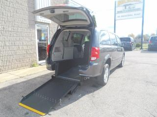 Used 2015 Dodge Grand Caravan SE- Wheelchair Accessible Rear Entry Conversion for sale in London, ON