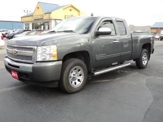Used 2011 Chevrolet Silverado 1500 LS ExtCab 4X4 4.8L 6ft Box Cheyenne Edition for sale in Brantford, ON
