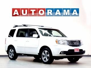 Used 2014 Honda Pilot EX-L LEATHER SUNROOF 8 PASS 4WD BACKUP CAM for sale in North York, ON