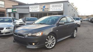 Used 2010 Mitsubishi Lancer GTS BLUETOOTH, SPORT/PADDLE SHIFT for sale in Etobicoke, ON