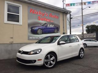 Used 2012 Volkswagen Golf 2.5 - SPORTLINE - AUTOMATIC - SUNROOF - LOADED! for sale in Gloucester, ON