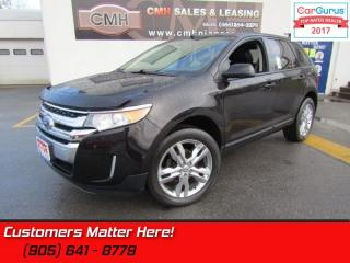 Used 2013 Ford Edge SEL  AWD, LEATHER, SUNROOF, HEATED SEATS, POWER GATE for sale in St Catharines, ON