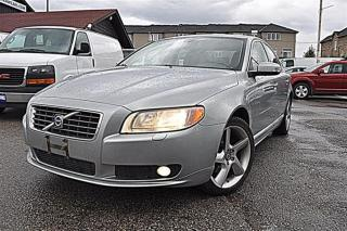 Used 2009 Volvo S80 T6, AWD, LEATHER, SUNROOF for sale in Aurora, ON