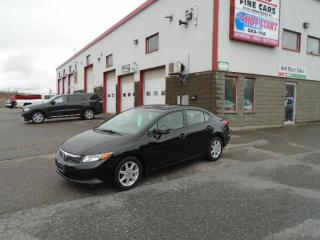 Used 2012 Honda Civic Sdn LX for sale in Sudbury, ON