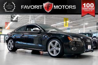 Used 2010 Audi S5 4.2L V8 QUATTRO | LTHR | MANUAL | SIDE ASSIST for sale in North York, ON