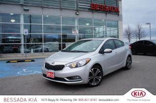 Used 2014 Kia Forte EX AT Sunroof for sale in Pickering, ON