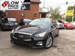 Used 2014 Infiniti Q50 Navi*Cam*AWD*NoAccident&InfinitiWarranty* for sale in York, ON