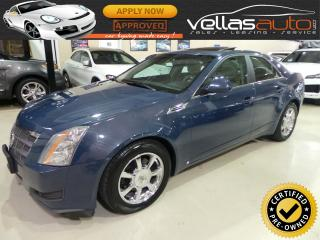 Used 2009 Cadillac CTS AWD| 3.6L| PANORAMIC ROOF| LEATHER for sale in Woodbridge, ON