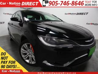 Used 2015 Chrysler 200 Limited| BACK UP CAMERA| 8.4 TOUCH SCREEN| for sale in Burlington, ON