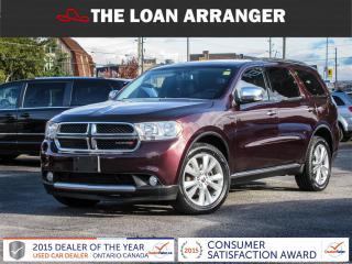 Used 2012 Dodge Durango CREW for sale in Barrie, ON
