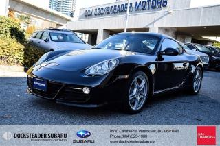 Used 2010 Porsche Cayman S PDK for sale in Vancouver, BC