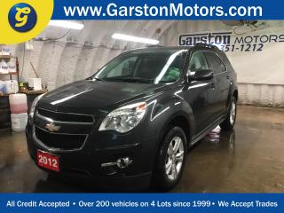 Used 2012 Chevrolet Equinox LT*BACK UP CAMERA*ECO MODE*KEYLESS ENTRY w/REMOTE START*HEATED FRONT SEATS*ALLOYS* for sale in Cambridge, ON