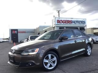 Used 2011 Volkswagen Jetta 2.5 - NAVI - LEATHER - SUNROOF for sale in Oakville, ON