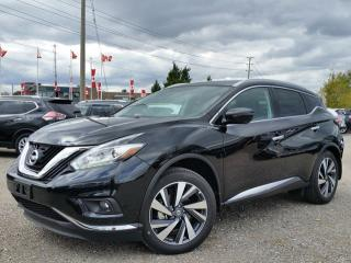Used 2017 Nissan Murano Platinum AWD w/all leather,NAV,pan roof,climate,heated/cooled seats,rear cam for sale in Cambridge, ON