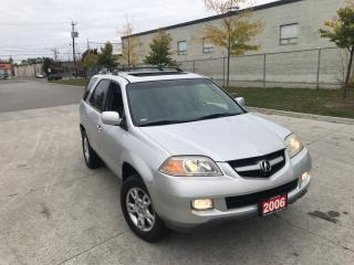 Used 2006 Acura MDX AWD, 7 Passenger, eather, Sunroof, Certify, for sale in North York, ON