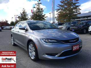 Used 2015 Chrysler 200 LIMITED**HEATED SEATS**REMOTE START** for sale in Mississauga, ON