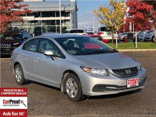 Used 2013 Honda Civic LX**KEYLESS ENTRY**A/C** for sale in Mississauga, ON