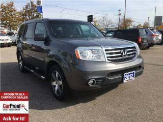 Used 2012 Honda Pilot TOURING**LEATHER**SUNROOF**NAVIGATION for sale in Mississauga, ON