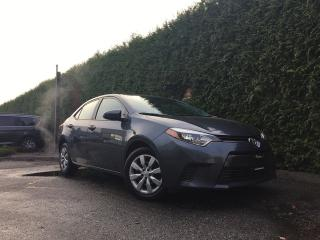 Used 2016 Toyota Corolla LE + HEATED FT SEATS + BACK-UP CAMERA + NO EXTRA DEALER FEES + FREE LIFETIME ENGINE WARRANTY for sale in Surrey, BC