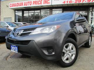 Used 2013 Toyota RAV4 LE-BLUE-TOOTH-ONE-OWNER for sale in Scarborough, ON