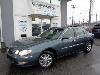 Used 2006 Buick Allure CXL Sedan, Sunroof, Reverse Sensors, Power Seat for sale in Langley, BC