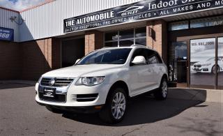 Used 2009 Volkswagen Touareg VR6 NAVI BACK-UP CAMERA NO ACCIDENT for sale in Mississauga, ON