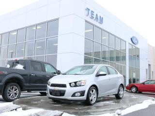 Used 2015 Chevrolet Sonic LT, MOONROOF, BLUETOOTH, HEATED FRONT SEATS, REAR CAMERA, CLTH, FWD for sale in Edmonton, AB