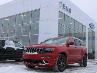 Used 2015 Jeep Grand Cherokee SRT, ACCIDENT FREE, BLUETOOTH, PANORAMIC SUNROOF, NAV, HEATED FRONT SEATS, REAR CAMERA, LTHER, 4X4 for sale in Edmonton, AB