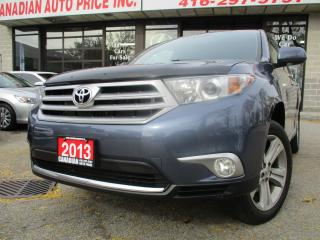 Used 2013 Toyota Highlander LIMITED-NAV-LTHER-CAMERA-SUNROOF-7PASS for sale in Scarborough, ON