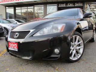 Used 2012 Lexus IS 250 AWD-NAVIGATION-CAMERA-LOADED for sale in Scarborough, ON