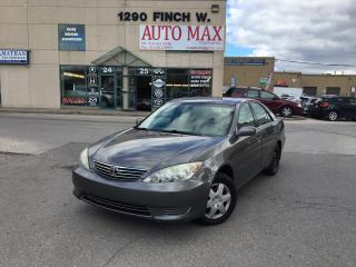 Used 2005 Toyota Camry LE, Sunroof, Certified for sale in North York, ON