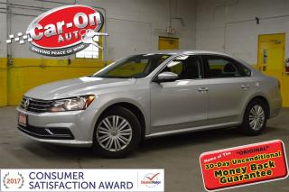 Used 2016 Volkswagen Passat 1.8 TSI TRENDLINE PWR GRP REAR CAM BLUETOOTH for sale in Ottawa, ON